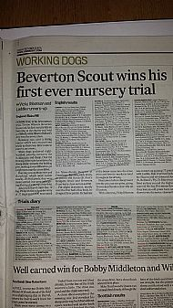 Beverton Scout wins trial